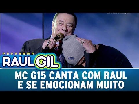 MC G15 canta com Raul Gil e se emociona muito | Programa Raul Gil   (25/03/17)