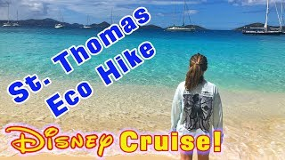 Disney Cruise Star Wars Day at Sea Eco Hike in St Thomas