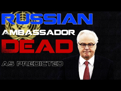 Russian Ambassador to U.N dead (as predicted)