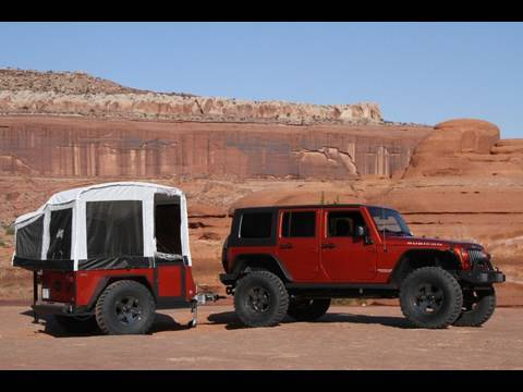First Look Jeep Off Road Camper Trailer Youtube