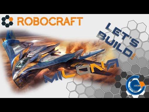 ROBOCRAFT [Let's Build!] Spaceship MILANO! [Contest!]