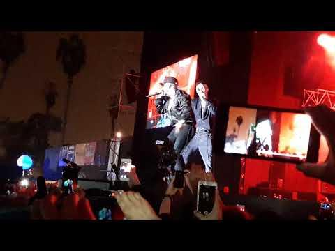 J Balvin ft Yandel - Acercate En Vivo (Lima - Perú) Lima Music Fest 2017
