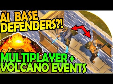 TOM AI BASE DEFENDER - MULTIPLAYER + VOLCANO EVENTS INBOUND- Last Day On Earth Survival 1.6.7 Update
