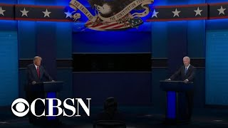 Highlights from the final debate as Trump and Biden face off over key issues