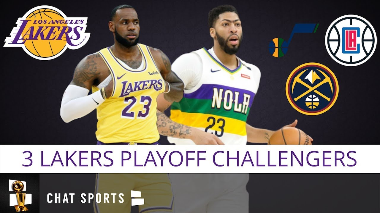 3 Teams Most Likely To Challenge La Lakers In The 2020 Nba Playoffs Led By The Clippers Jazz