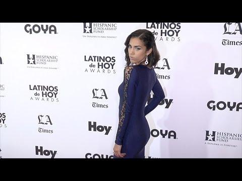 Andrea Sixtos // Latinos de Hoy Awards 2015 Red Carpet Arrivals thumbnail