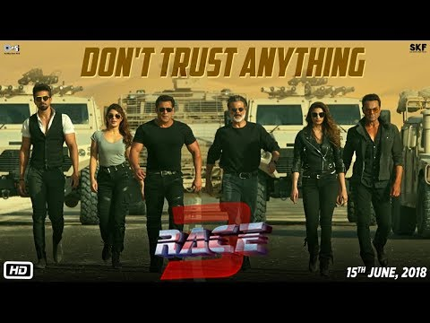 Race 3  Don't Trust Anything  BTS  Salman Khan  Remo Dsouza