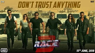 Race 3 | Don't Trust Anything | BTS | Salman Khan | Remo D'Souza