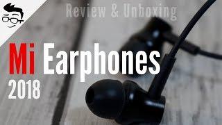 New Mi Earphones Review & Unboxing (2018), Best earphones? 🔥🔥 Hindi   Giveaway   Geekman