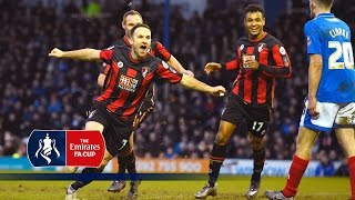 Portsmouth 1-2 Bournemouth - Emirates FA Cup 2015/16 (R4) | Goals & Highlights