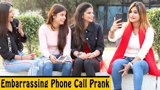 Embarrassing Call Prank | Rits Dhawan