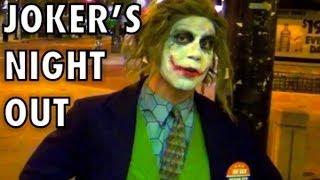 Joker Pranks People in Real Life! Real Life Batman Spoof Dark Knight Parody