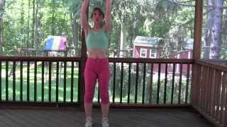LOW-IMPACT CARDIO AEROBIC EXERCISE 25-MINUTE WORKOUT at Home