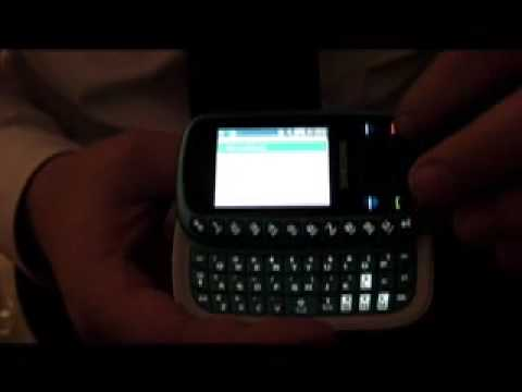 Samsung B3310 hands on demonstration