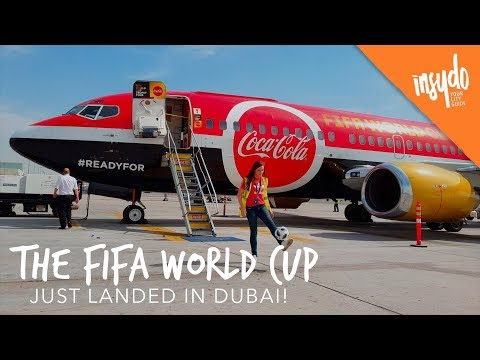 We Toured Dubai with the ACTUAL FIFA World Cup!
