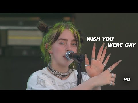 Billie Eilish - Wish You Were Gay Live At Music Midtown Festival 2019 (Remastered 50fps)