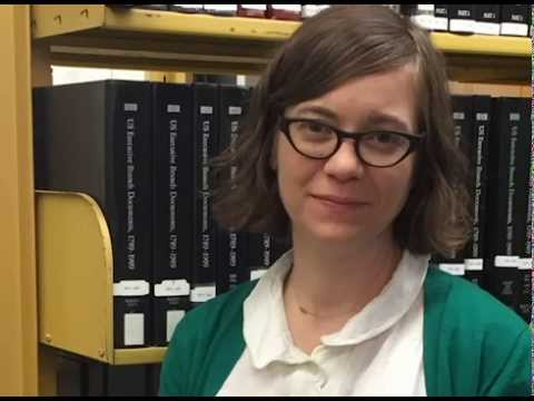 Robbie Sittel- A look at the Government Documents Librarian at UNT