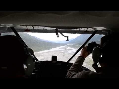 Landing on a Sandbar Between the Gates of the Arctic