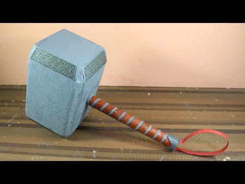 How To Make Thor Hammer ( Mjolnir )