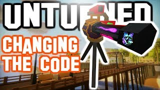 Fury in SENTRY! - Changing The Code in Unturned!
