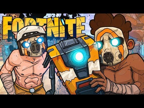 FORTNITE SUCKS! but they added borderlands stuff & thats cool