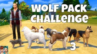 SIMS 4 VIDEO | WOLF PACK CHALLENGE | EPISODE 3