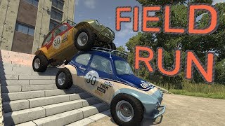 BeamNG.drive - FIELD RUN AND MORE!