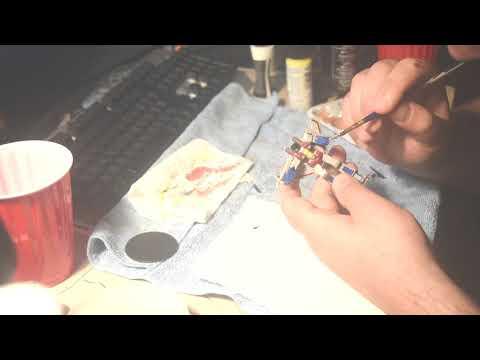 Paint and Review - WIZKIDS - Starscream - HD MINIS