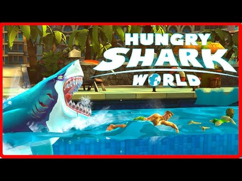 Hungry Shark World Ep 1 - NEW MAPS, SHARKS & GADGETS - Hungr