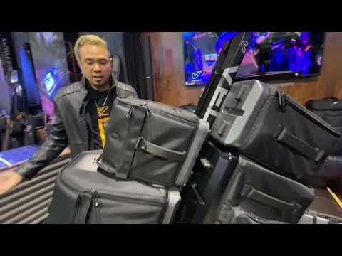 Gruv Gear previews the new VELOC drum bags at NAMM 2020