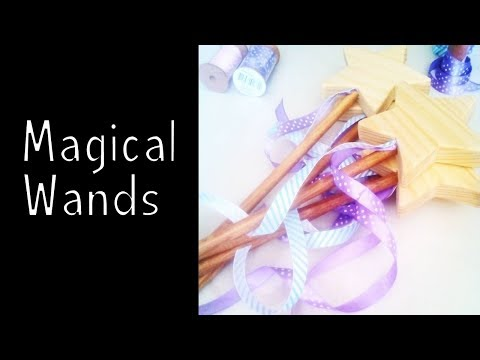 Wooden toys for charity - Magical Wands | How To Woodworking