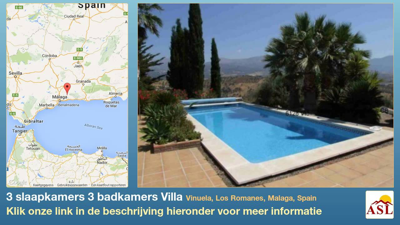 3 slaapkamers 3 badkamers Villa te Koop in Vinuela, Los Romanes ...
