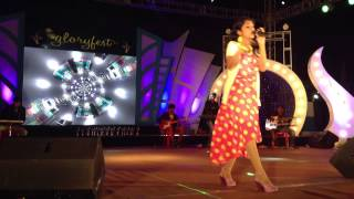 Rojalin Sahu Performing at Glory Fest