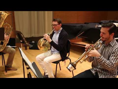 Rehearsal Snapshot: Brass Chamber Music
