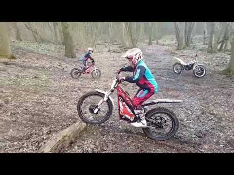 Oset 24 And Oset 20 Trials Bikes Amazing 6 + 9 Year Olds