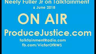 [2h]Neely Fuller Jr- Sex with white people, House/field slave, Ancient Royalism - 6 June 2018
