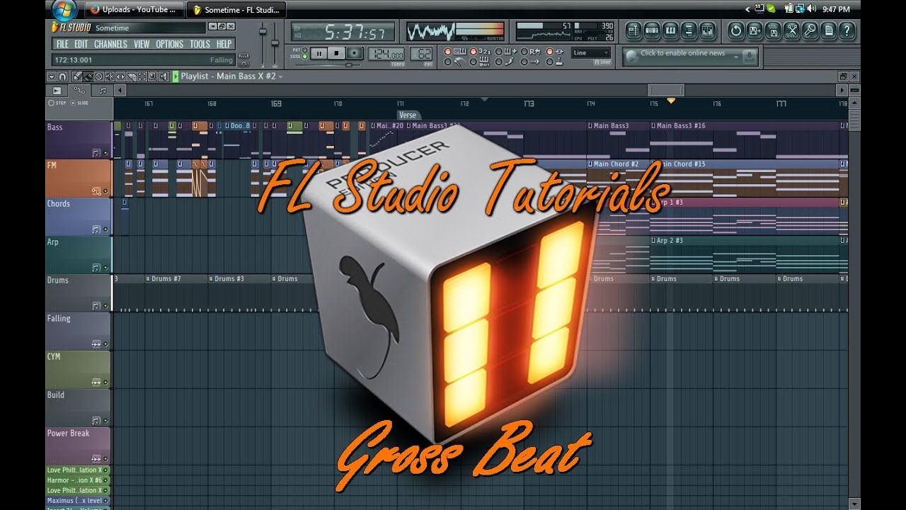 How To Use Gross Beat Fl Studio 11 Tutorial Youtube