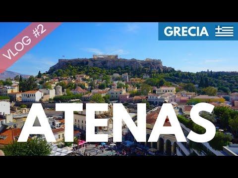 ATENAS Free Tour, Acropolis, Partenon y Agora - VLOG #2 - GRECIA