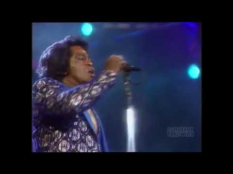 James Brown, but he just screams...
