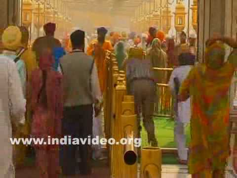 Devotees at Golden Temple, Amritsar