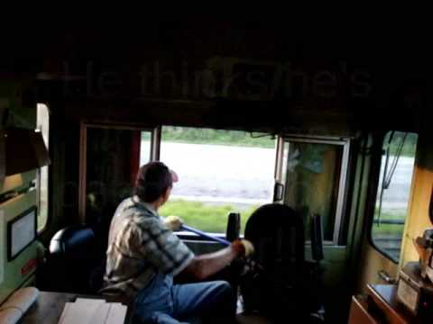 Freight Train Conductor Snaps  Looses It!! - YouTube