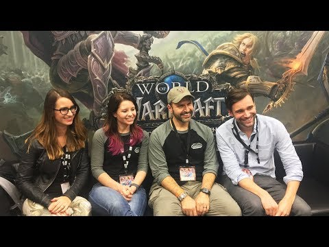 No Boat Of Your Own Next Expansion, More Character Slots - World Of Warcraft Dev Interview Blizzcon