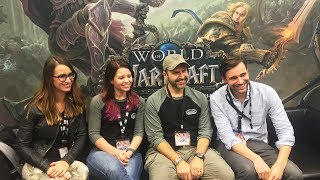 No Boat Of Your Own Next Expansion More Character Slots - World Of Warcraft Dev Interview Blizzcon