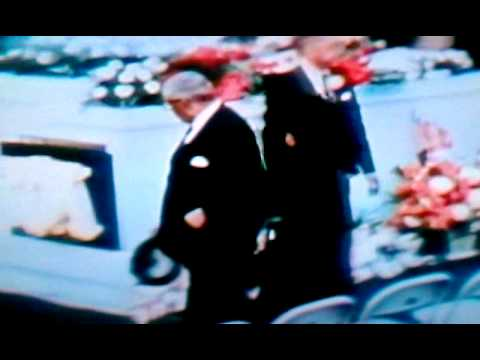 Dr. Martin Luther THE KING FUNERAL .