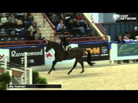 Lillie Keenan wins  PessoaUS Hunter Seat Medal Finals presented by Randolph College