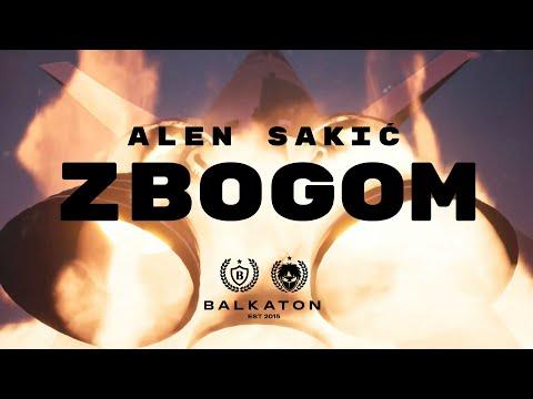 ALEN SAKIĆ - ZBOGOM (LYRICS VIDEO)