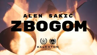 ALEN SAKIĆ - ZBOGOM (LYRICS VIDEO)