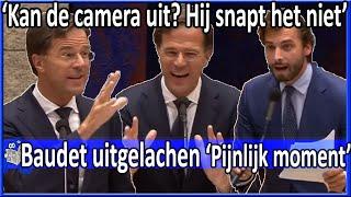 """Mark Rutte over Baudet """"Hij snapt het niet"""" Algemene Politieke Beschouwingen 21-9-2018"""