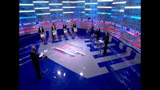 Дебаты 2018 на Первом Канале (13.03.2018, 08:05)