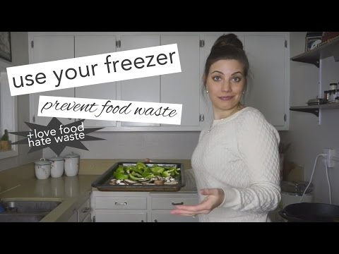 Top Tips for Using Your Freezer to Prevent Food Waste with Love Food Hate Waste